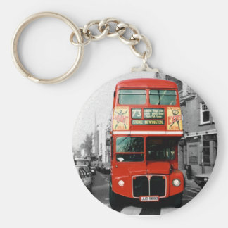 Souvenir London Bus Keychain