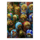 Souvenir Matryoshka Dolls Thank You Card