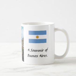 Souvenir Mug - Buenos Aires, Argentina.