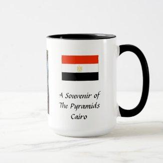 Souvenir Mug - Cairo, Pyramids