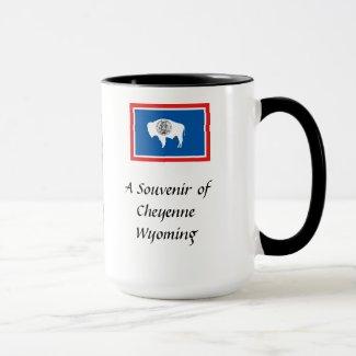 Souvenir Mug - Cheyenne, Wyoming