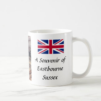 Souvenir Mug, Eastbourne, Sussex Coffee Mug