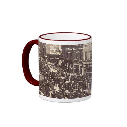 Souvenir Mug - London, Petticoat Lane