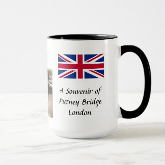 Souvenir Mug - Putney Bridge, London