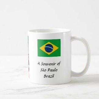 Souvenir Mug - Sao Paulo, Brazil