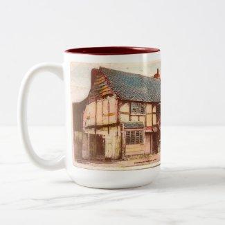 Souvenir Mug - Shakespeare's Birthplace in 1858