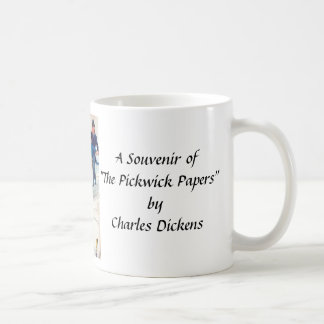 "Souvenir Mug - ""The Pickwick Papers""."
