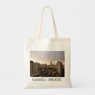 Souvenir of Curitiba - Paran3a - Brazil Budget Tote Bag