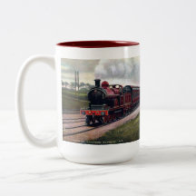 Souvenir Railway Mug - Leeds and Bradford Express