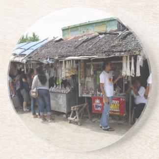 Souvenir stalls in Sulangan Coaster