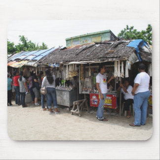 Souvenir stalls in Sulangan Mousepad