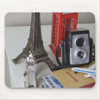 Souvenirs and camera mouse pads