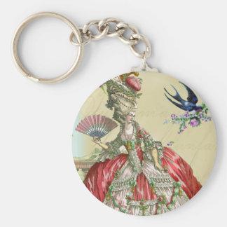 Souvenirs de Versailles Basic Round Button Key Ring