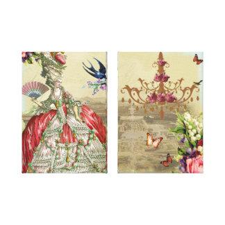 Souvenirs de Versailles Canvas Print