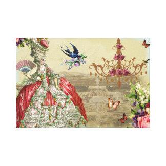 Souvenirs de Versailles Canvas Prints