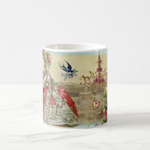 Souvenirs de Versailles Classic White Coffee Mug