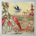 Souvenirs de Versailles Poster
