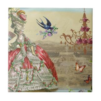 Souvenirs de Versailles Small Square Tile