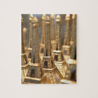 Souvenirs of Eiffel Tower Jigsaw Puzzle