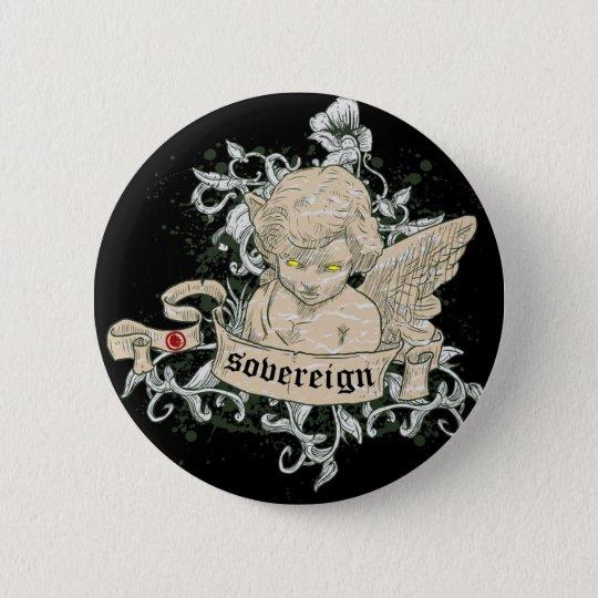 Sovereign 6 Cm Round Badge