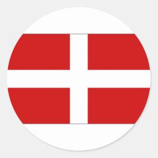 Sovereign Military Order of Malta Round Sticker