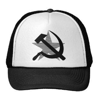 Soviet Black Hammer & Sickle Trucker Hat