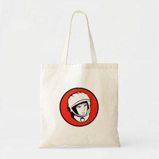 Soviet Cosmonaut Tote Budget Tote Bag