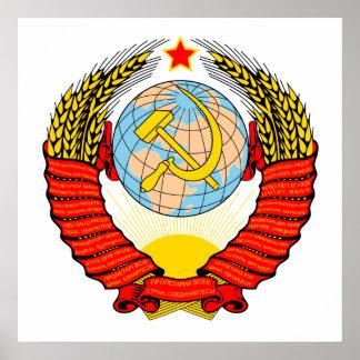 Soviet Emblem Poster