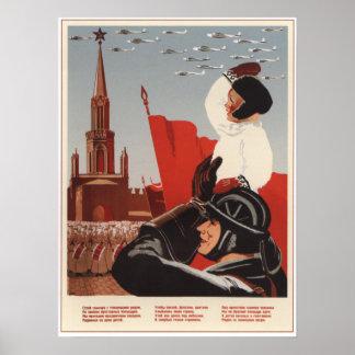 Soviet Formation Poster