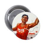 Soviet Friendship and Sport Pins