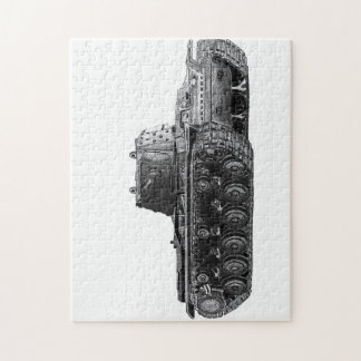 Soviet KV1 tank jigsaw Jigsaw Puzzle