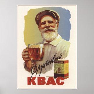 Soviet Kvass Poster