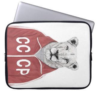 Soviet lion computer sleeves