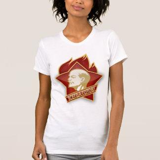 Soviet Pioneer emblem women's t-shirt