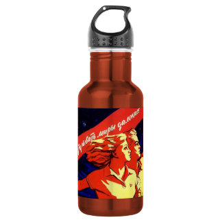 soviet propaganda 532 ml water bottle