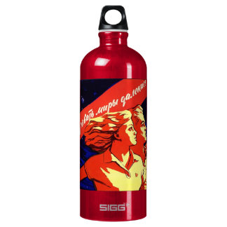 soviet propaganda SIGG traveller 1.0L water bottle