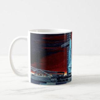 Soviet Space Shuttle Basic White Mug