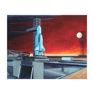 Soviet Space Shuttle Canvas Print