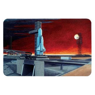 Soviet Space Shuttle Rectangular Photo Magnet