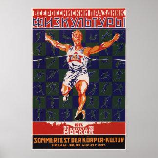 Soviet Sport 1927 Poster