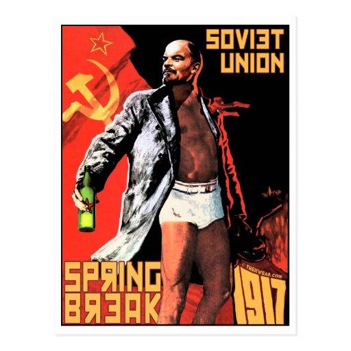 Soviet Spring Break 1917 Travel Postcards