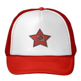 Soviet Star Hammer and Sickle Communist Cap