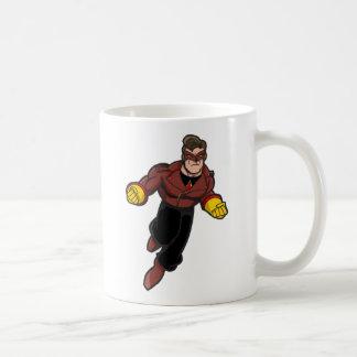 Soviet Superhero Coffee Mug! Basic White Mug