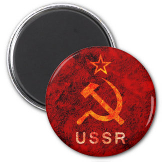 Soviet Union 6 Cm Round Magnet