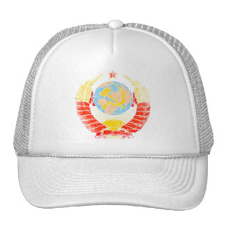 Soviet Union Coat Of Arms Vintage Cap