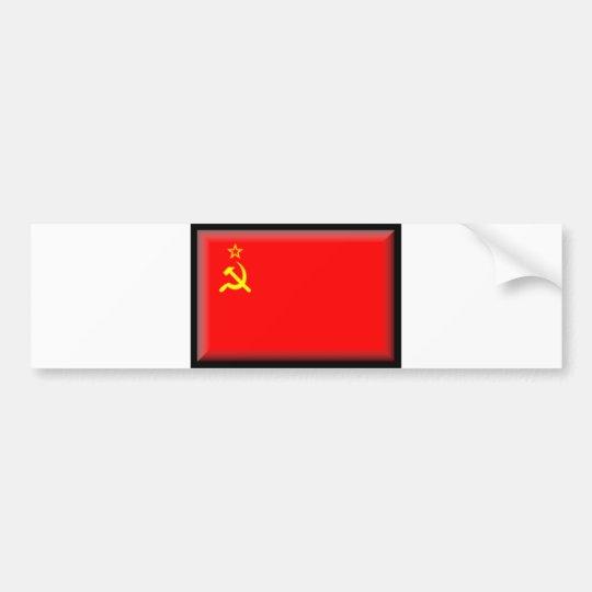 Soviet Union Flag Bumper Sticker