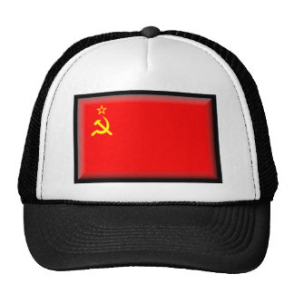 Soviet Union Flag Trucker Hats