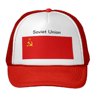 Soviet Union Flag Hat Trucker Hat