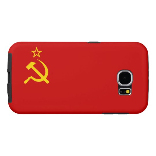 Soviet Union Flag Samsung Galaxy S6 Cases
