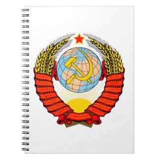 Soviet Union National Emblem Notebook